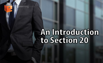 Section 20 e-Learning