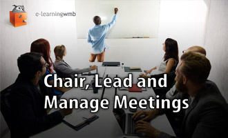 Chair, Lead and Manage Meetings