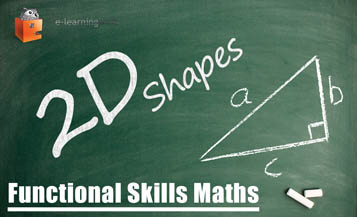 Functional Skills Maths 2D Shapes e-Learning