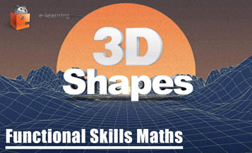 Functional Skills Maths 3D Shapes