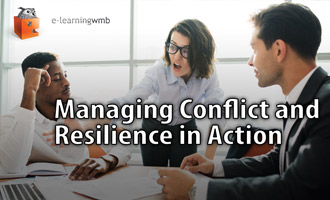 Managing Conflict and Resilience in Action e-Learning