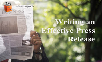 Writing an Effective Press Release e-Learning